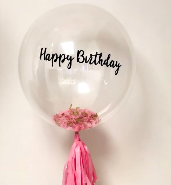 Customized Clear Balloons