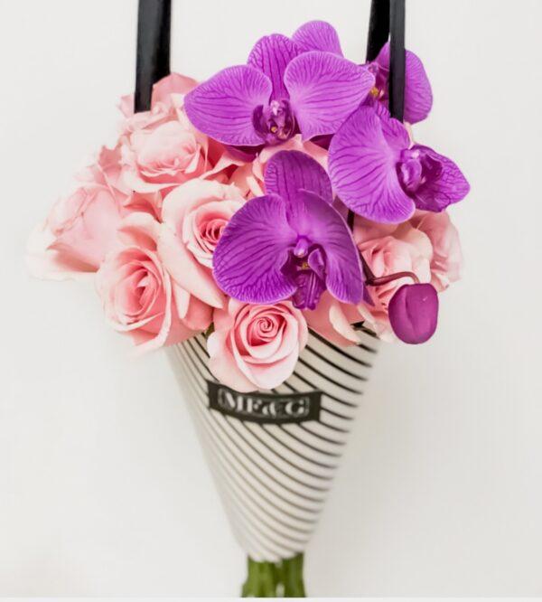 bouquet full of flowers