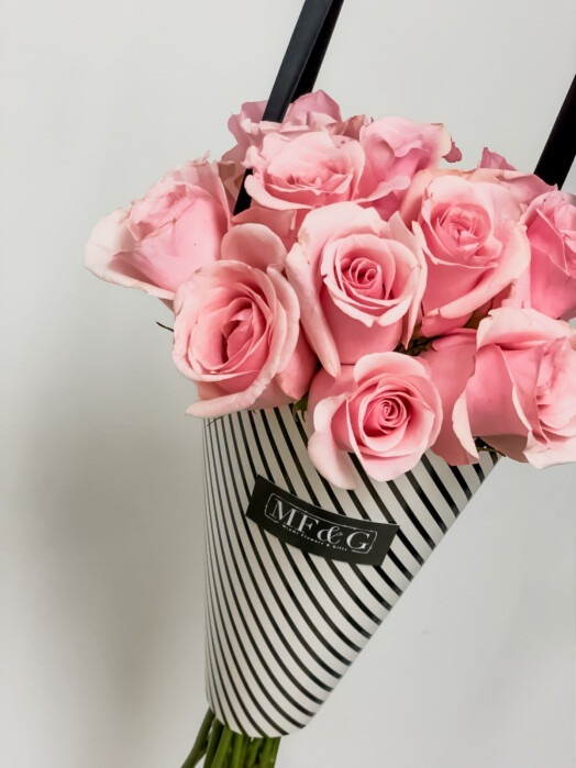 bouquet full of roses