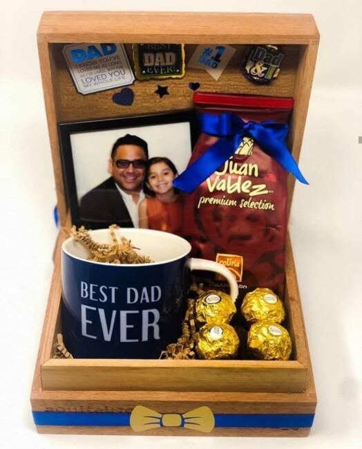 best dad coffee box