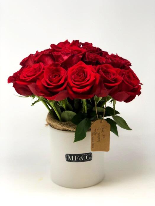 basket full of roses mf&g