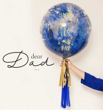 father day balloon