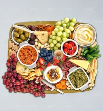 fruit father day platter