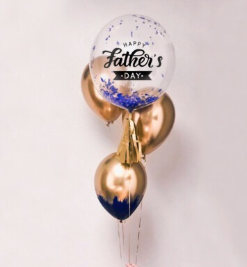 father balloon bouquet
