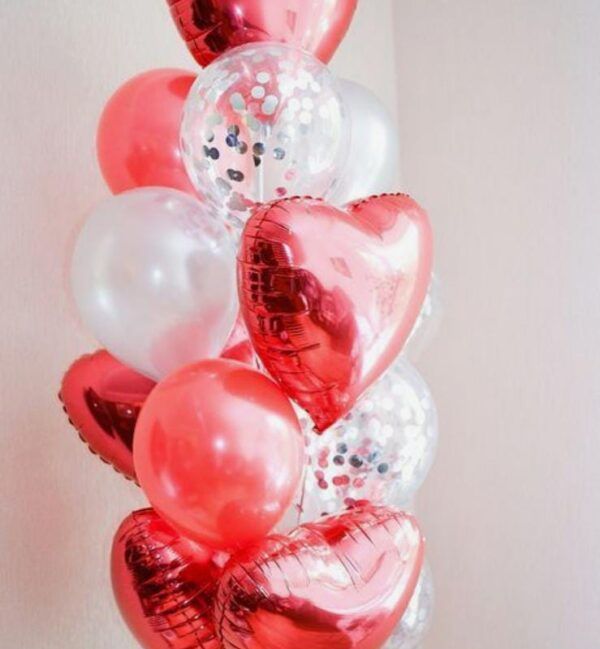 Customized balloons bouquet