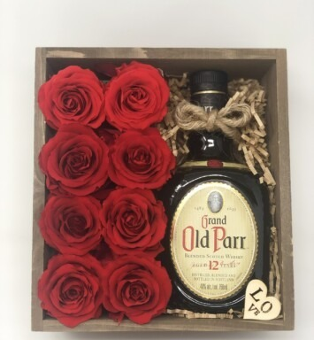 old parr gift box