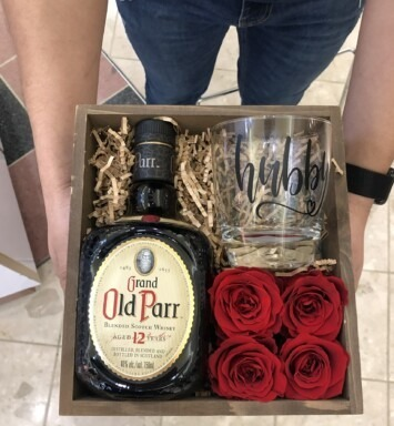 old parr gift box gift box