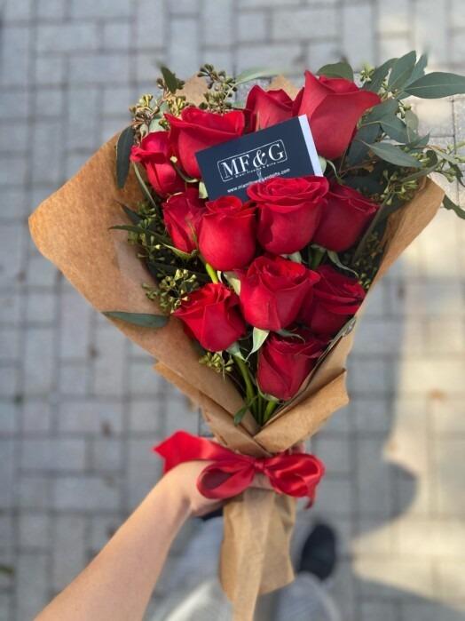 Crafty bouquet