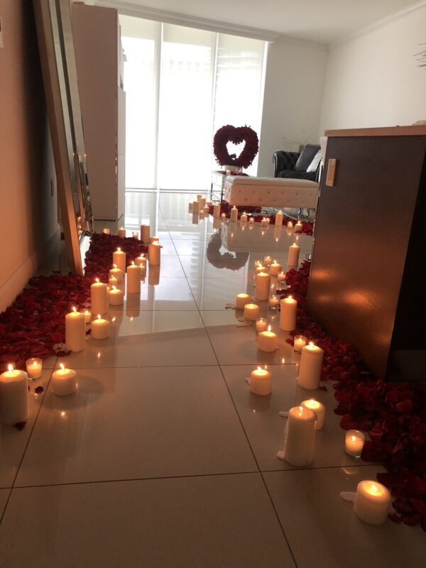 heart of love room decoration