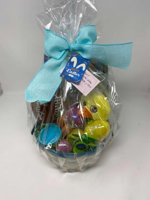 Happy Easter 2021 basket gift Baby duck