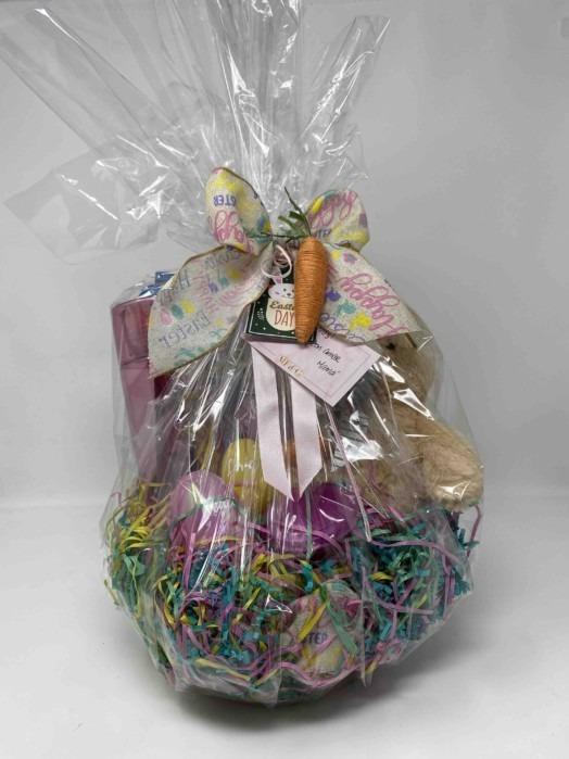 Easter basket funny bunny gift