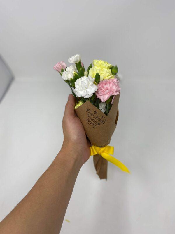 Mini spring flower bouquet