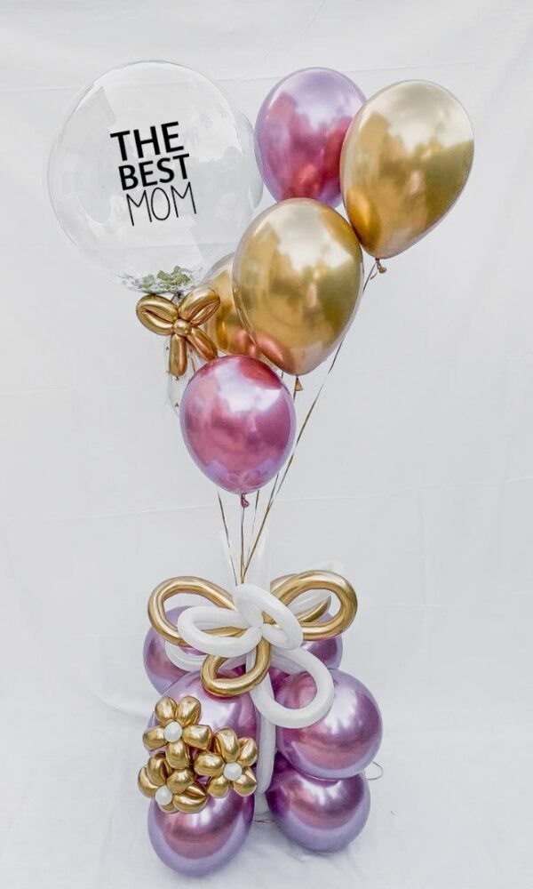 best mom balloon bouquet - mothers day