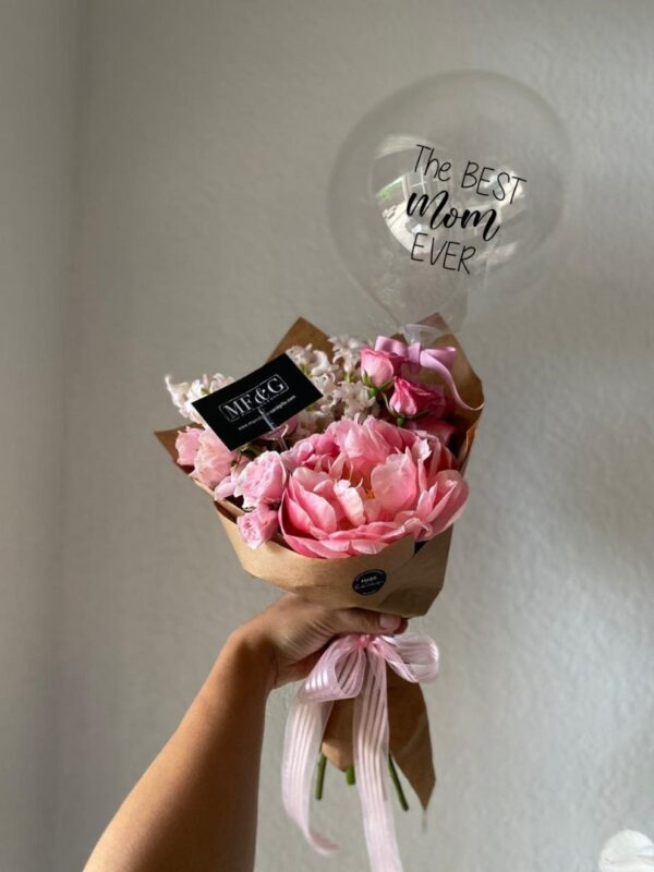 best mom crafty bouquet - mothers day